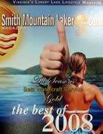 Smith Mountain Lake Best Marina Service 2008.