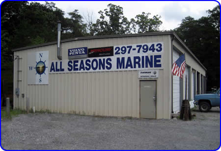 All Seasons Marine Service Shop, in Huddleston Virginia