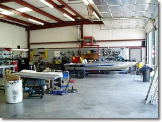 mercury marine repair shop